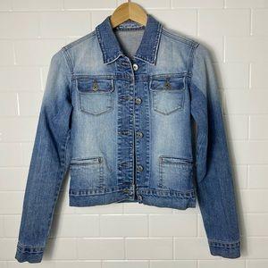🛍2/$20: GARAGE Blue Faded Denim Jacket